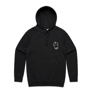 BOBA Bubble Tea Outline Hoodie