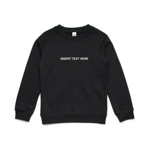 Custom Kids Crewneck