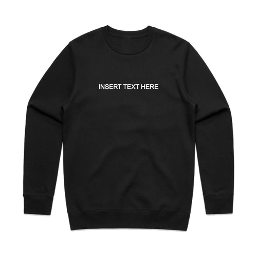 Custom Unisex Crewneck Sweater