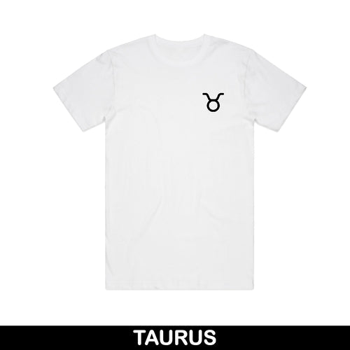Taurus Embroidered Unisex T-Shirt