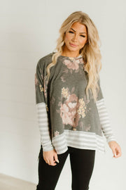 Beautiful Day Contrast Top