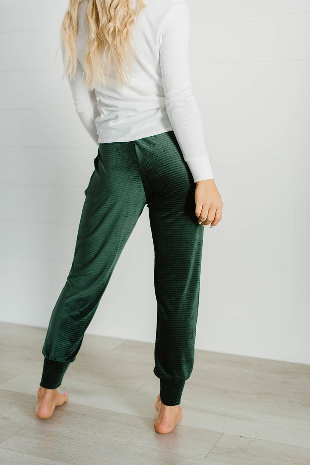 Oh So Sweet Corduroy Joggers