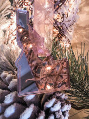 Rose Gold State Ornament - PRE ORDER