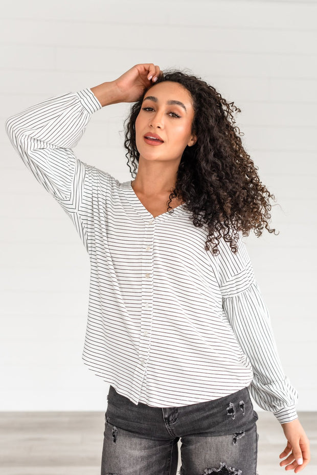 Bright Side Button-Up Top
