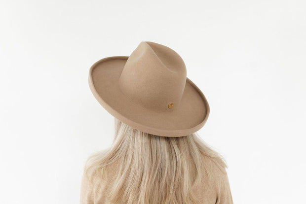 Pencil Brim Hat - Tan