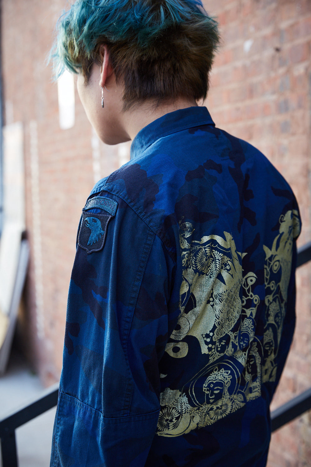 Blue Dragon Camo Jacket