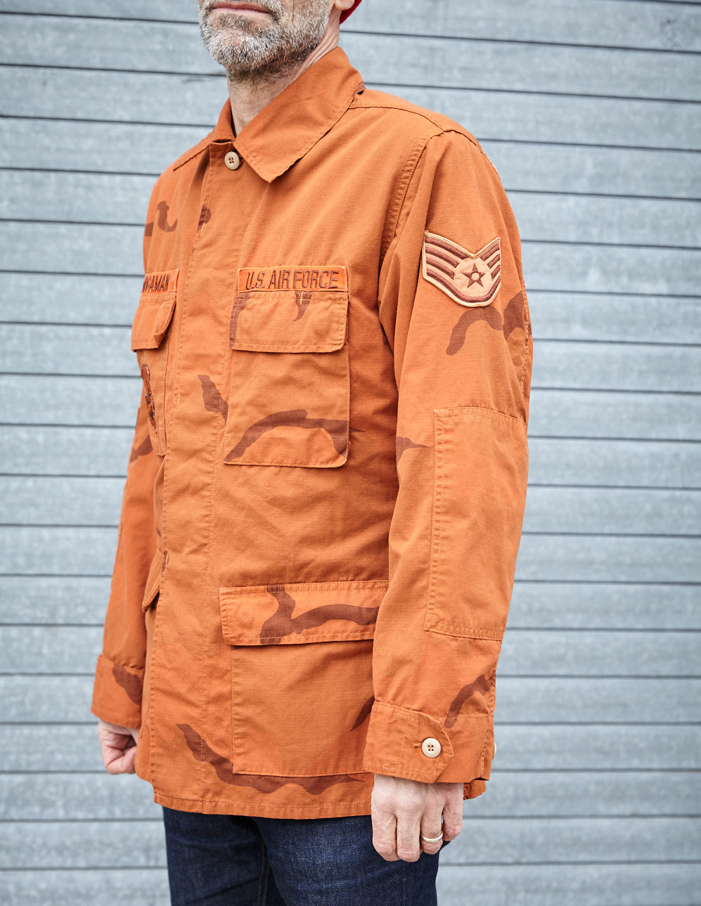 Orange Desert Camouflage Jacket