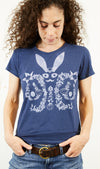 Bunny Rabbit in Fur T-shirt