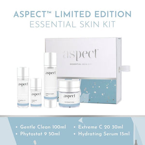 Limited edition Essential skin kit