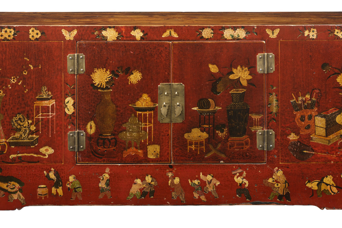 Chinese antique furniture, all in the detail