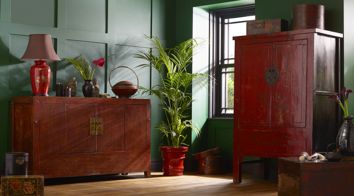 Add energy and passion to your interior with bold, striking reds!