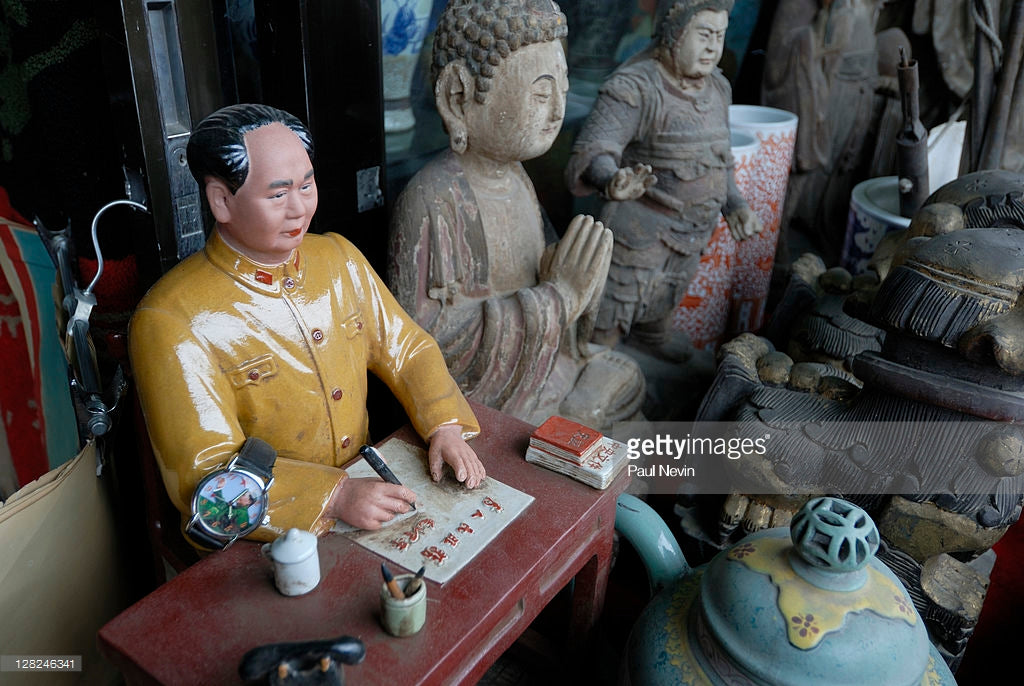 China visit – antique furniture, stoneware and pottery ordered and on the way soon