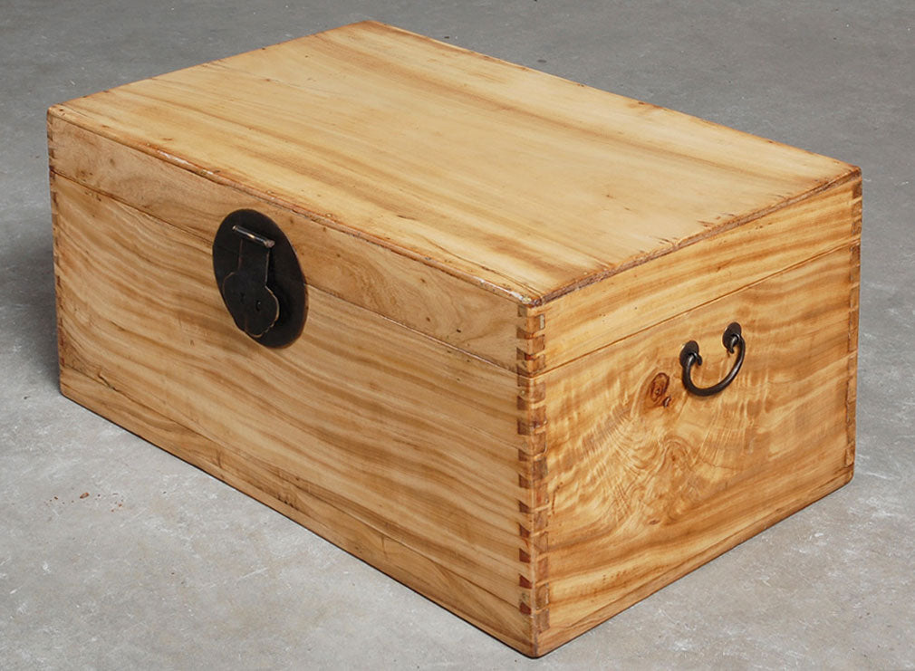 Chinese camphor chests arrived with our latest container
