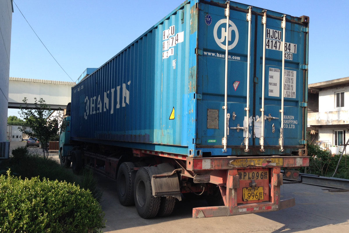 Final Checks and Container Loading in Shanghai