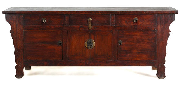 A wonderful walnut sideboard from Gansu