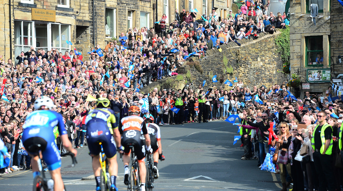The Tour de France comes to Yorkshire!