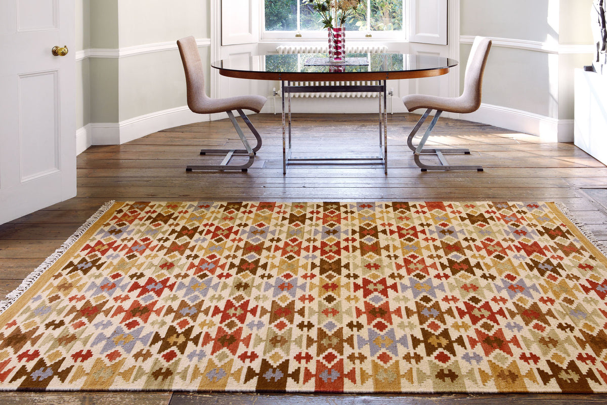 New range of oriental rugs and kelims now available!