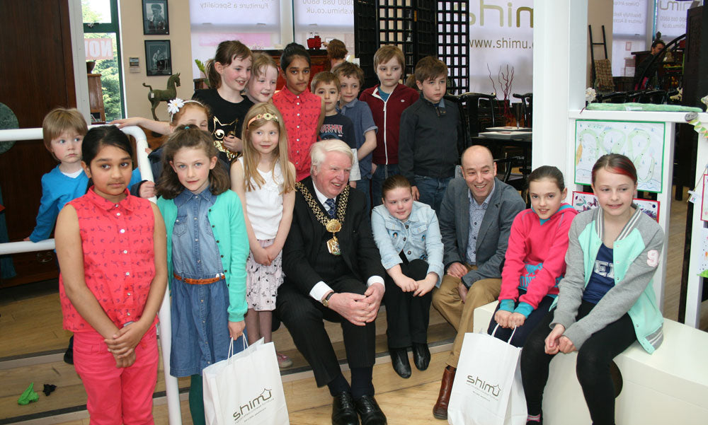 New showroom opens in Greengates with visit from the Lord Mayor of Bradford