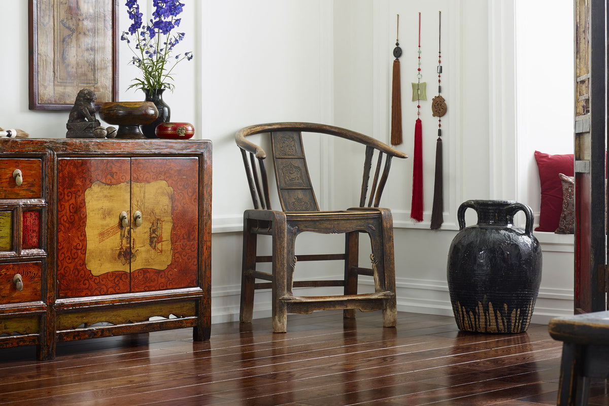 Horseshoes, Yoke-Backs and Southern Officials – highlighting some of the Chinese chairs in our antique collection
