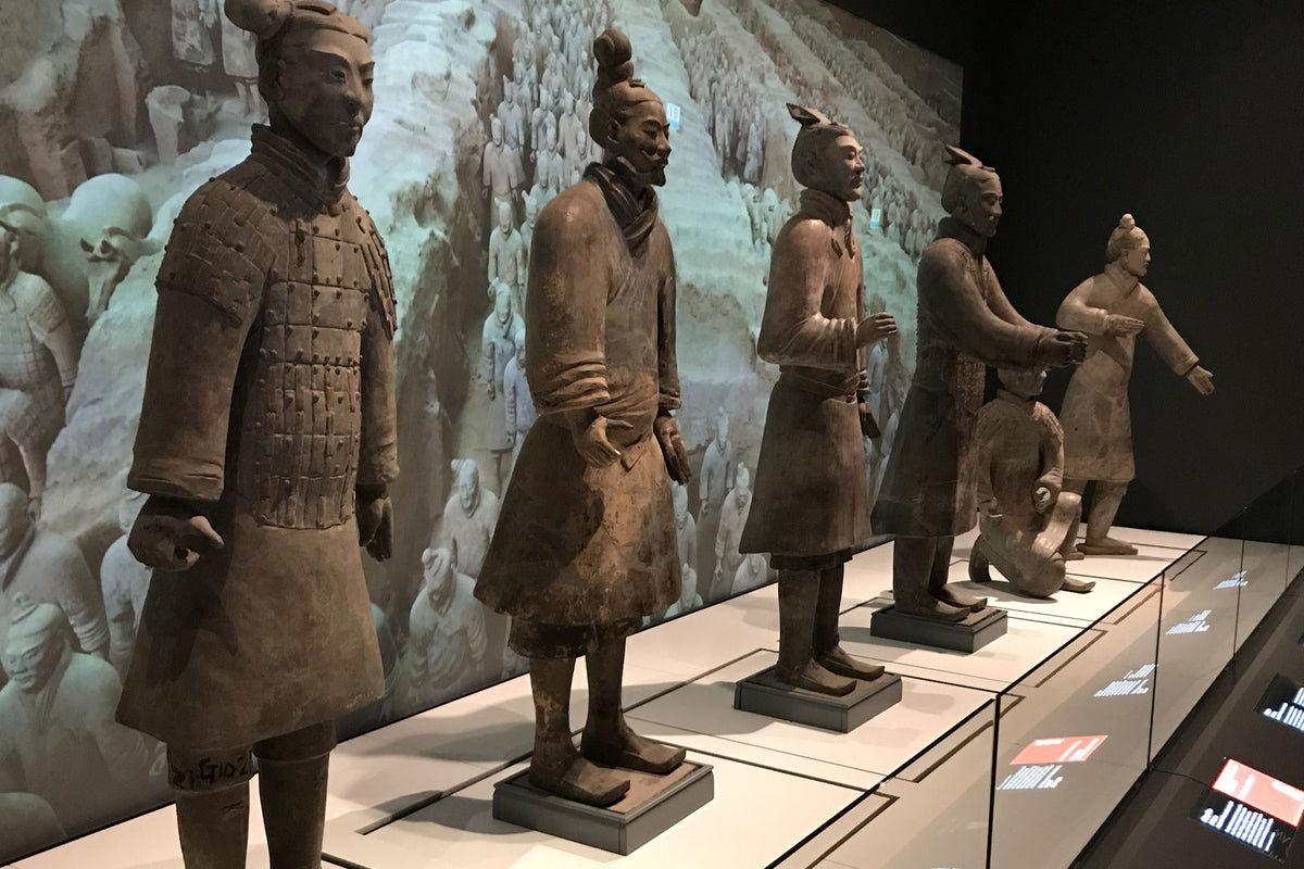 Terracotta Warriors at the World Museum
