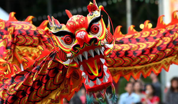 An amazing spectacle – Chinese New Year!