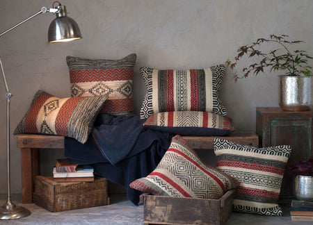 Autumnal cosy cushions