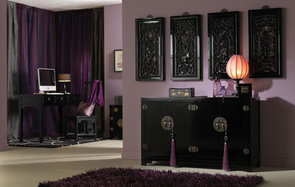 Chinese Classical Furniture, Black Lacquer
