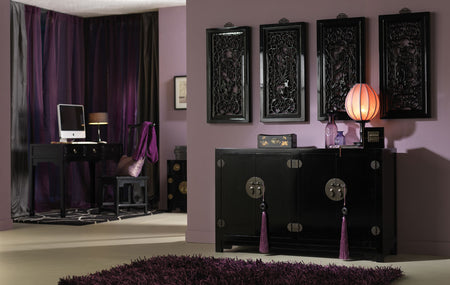 Black Lacquer Chinese Furniture