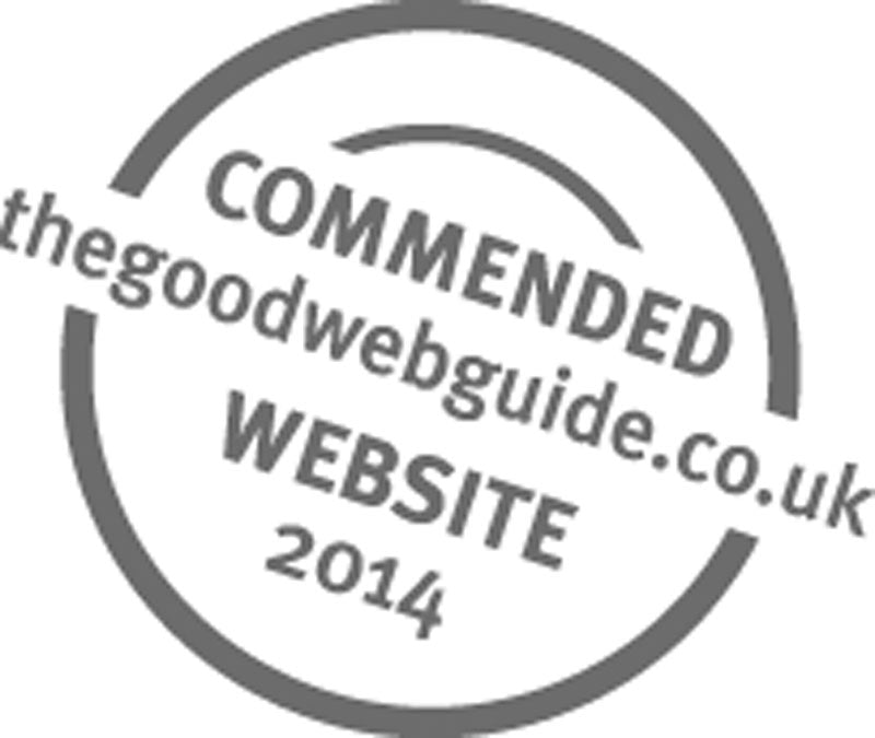 Our new website achieves recognition in the Good Web Guide awards!