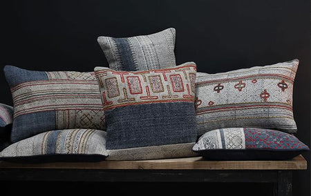 The art of cushion arranging