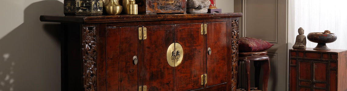 Chinese and oriental style sideboards