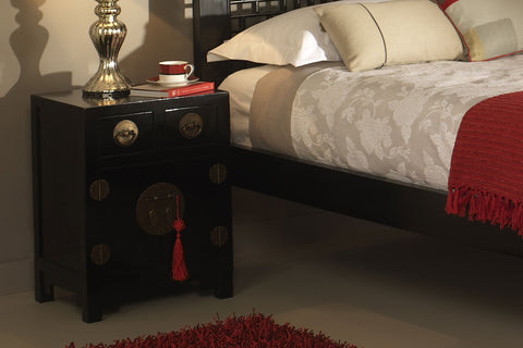 Oriental Bedside Tables