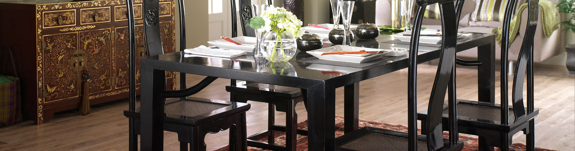 Oriental Dining Room Furniture
