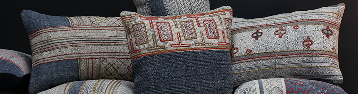 Oriental Cushions and Throws