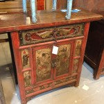 Shaanxi Antique Painted Cabinet
