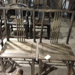 Pair of Elm Side Chairs, Shanxi
