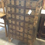 Antique Chinese medicine chest from Shanxi