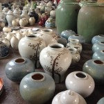 Pottery waiting to ship from Beijing