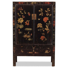 Shanxi Black Painted Armoire