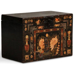 Chinese antique opera trunk