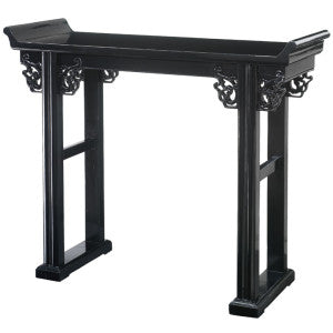 Altar Table, Black Lacquer