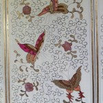 Butterflies on Chinese cabinet