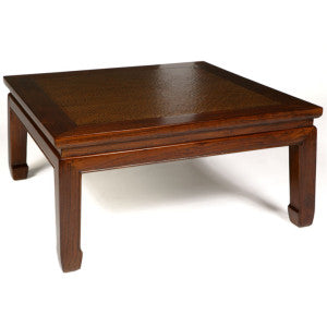 Daybed Coffee Table, Warm Elm