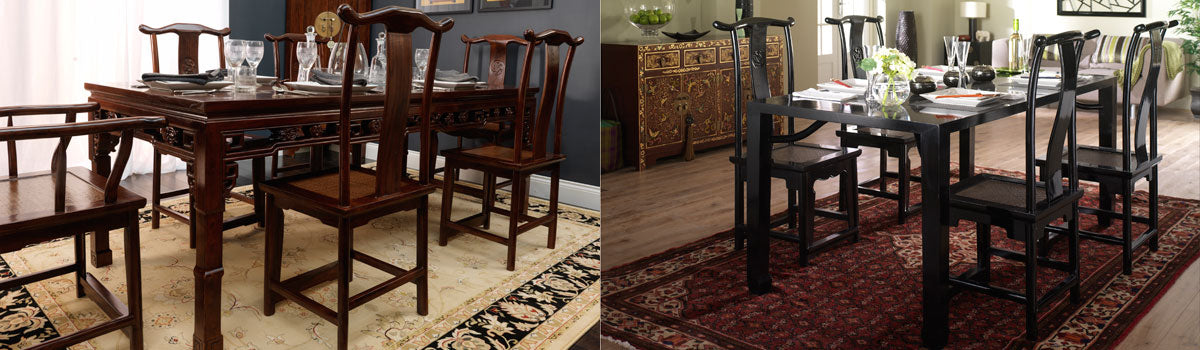 Chinese and Oriental Dining Tables
