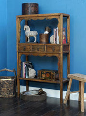 Antique Chinese Elm Bookshelf