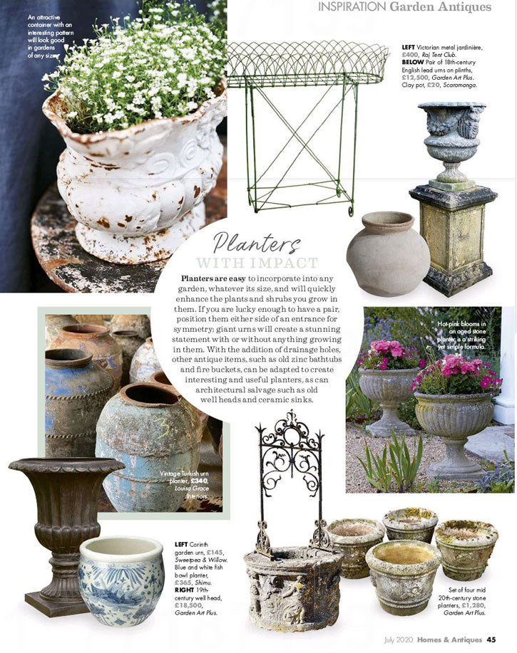 Homes and Antiques, July 2020