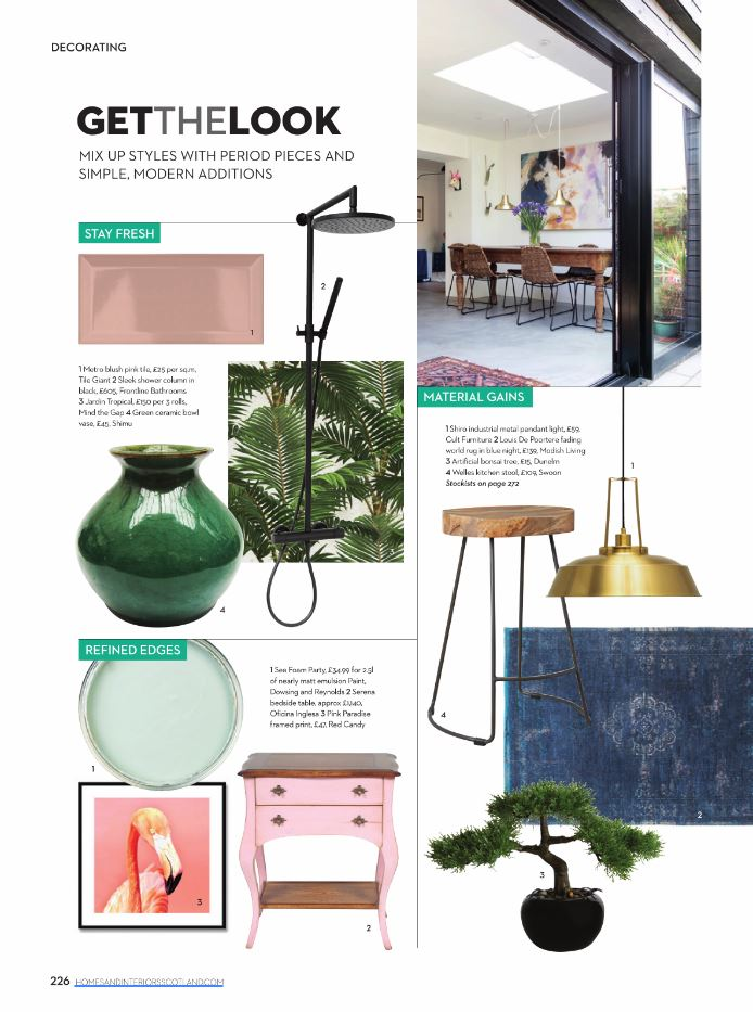 Homes & Interiors Scotland, May 2019
