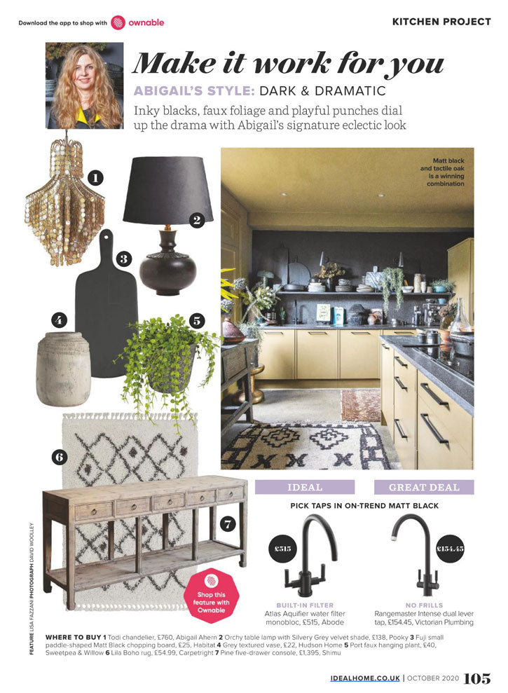 Ideal Home, October 2020