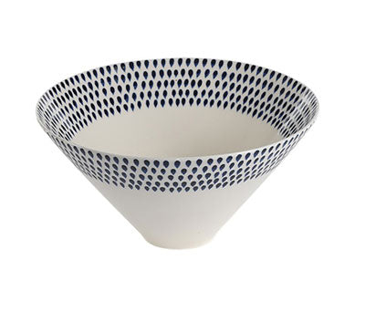 Indigo Drop Bowl