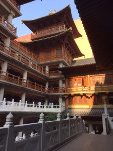 Jing'an Temple Architecture